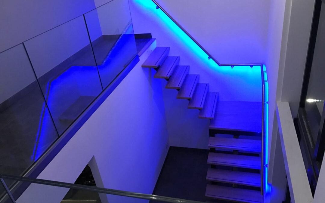 LED trapleuning